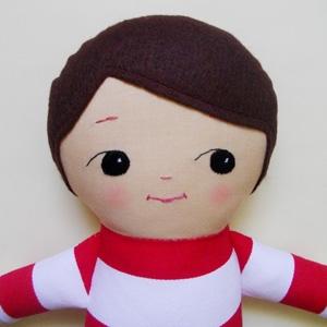 Palooka Handmade custom boy rag doll AU$58 - Etsy