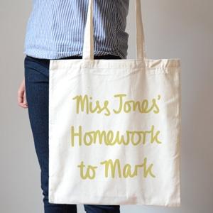 Hannah Stevens shop personalised tote baag AU$25.36 - Etsy