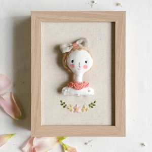 Riaparamita personalized miniature embroidered doll AU$84.09 - Etsy