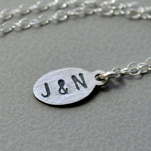 Epheriell Petite Custom Initials Necklace AU$39.16 - Etsy