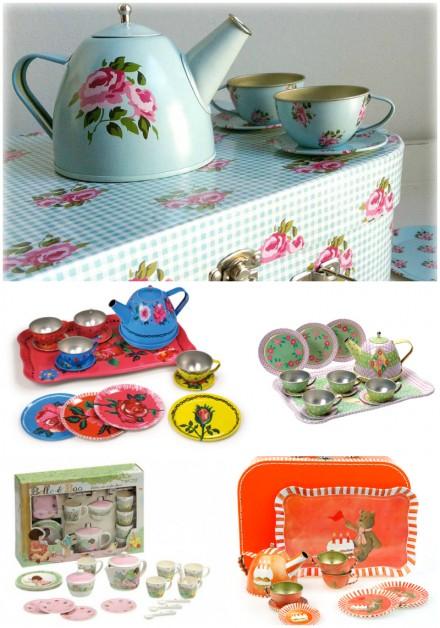 Children's tea sets via we-are-scout.com