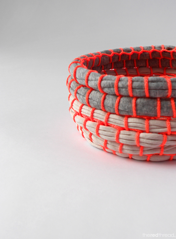 Do It Yourself Home Design: Make A Fabric Coil Bowl