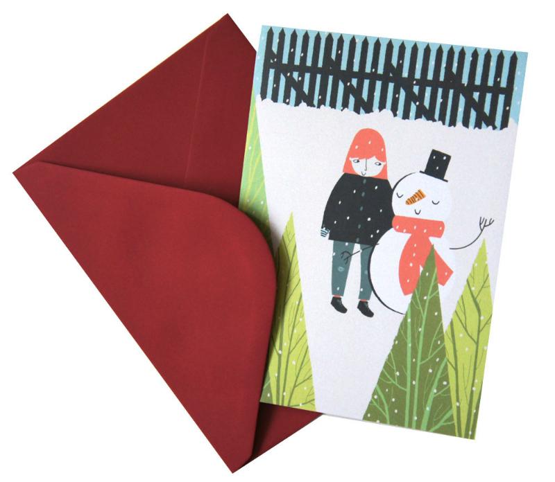 Alice Potter Christmas card via we-are-scout.com