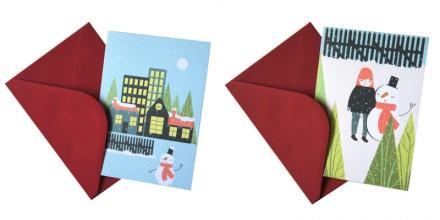 Alice Potter Christmas cards via we-are-scout.com