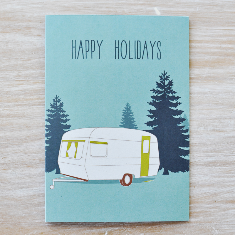 Caravan-Card by Fox and Beau via we-are-scout.com