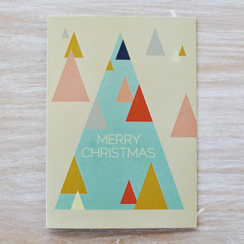 Fox and Beau Christmas cards via we-are-scout.com