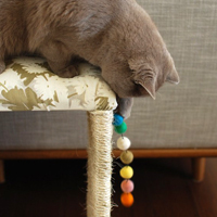 MODERN CAT SCRATCHER + IKEA HACK