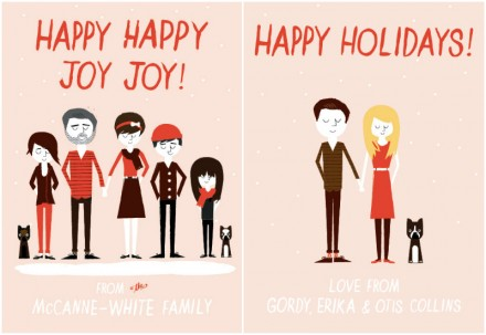 Ello There personalised Christmas cards via we-are-scout.com