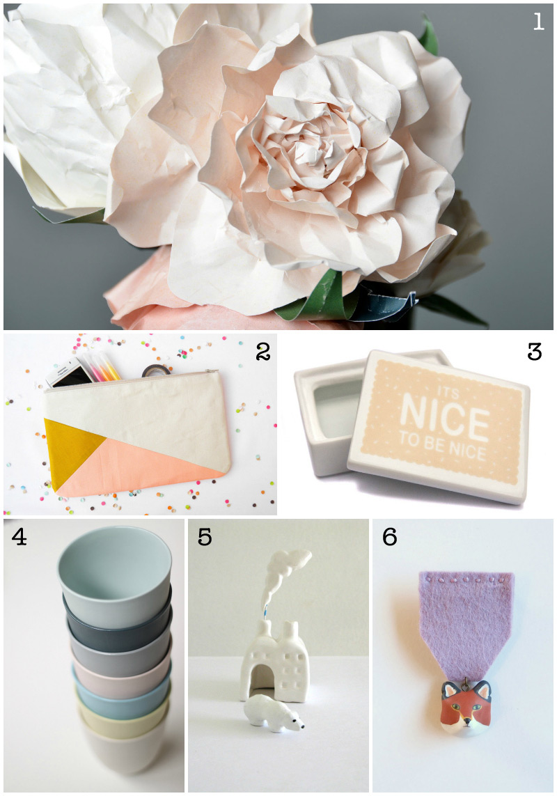Etsy Christmas Gift Guide 2012 via we-are-scout.com