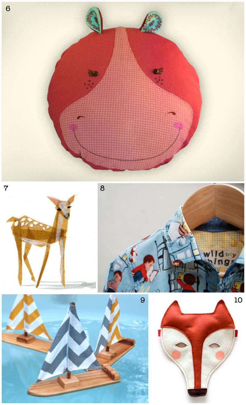 Etsy Christmas Gift Guide for Kids