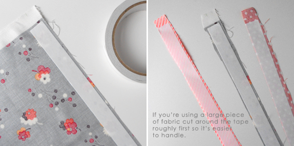 How To Make Your Own Fabric Tape We Are Scout