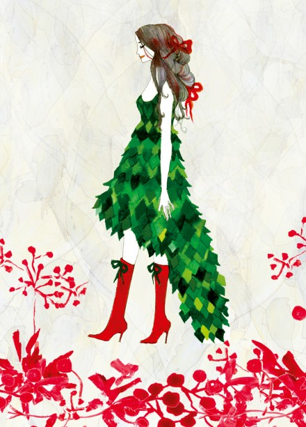 Gift Wrapped Girl by Little Branch via we-are-scout.com