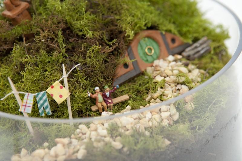 Hobbiton Miniature Garden via we-are-scout.com