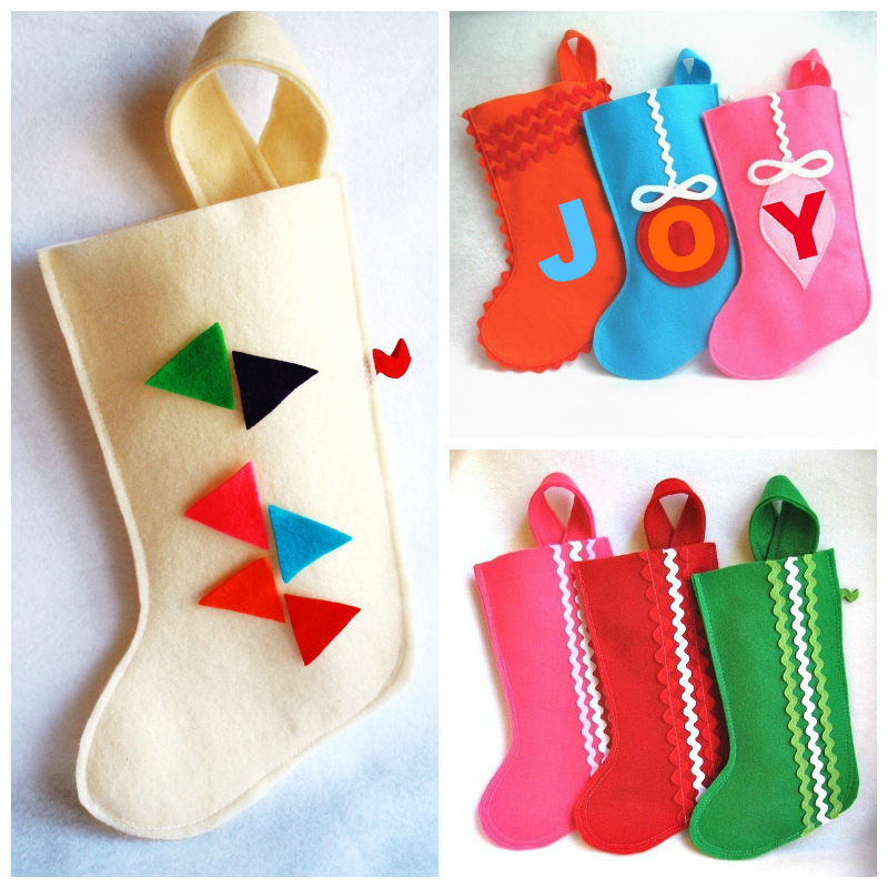 Personalised Christmas stocking by RikRak via we-are-scout.com