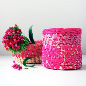 Tutorial: Make a coiled raffia basket
