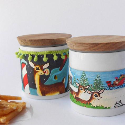 gift idea using Ikea jars