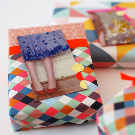 make your own gift wrap