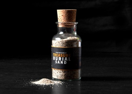 The Pirate Store Emergency Burial Sand via we-are-scout.com