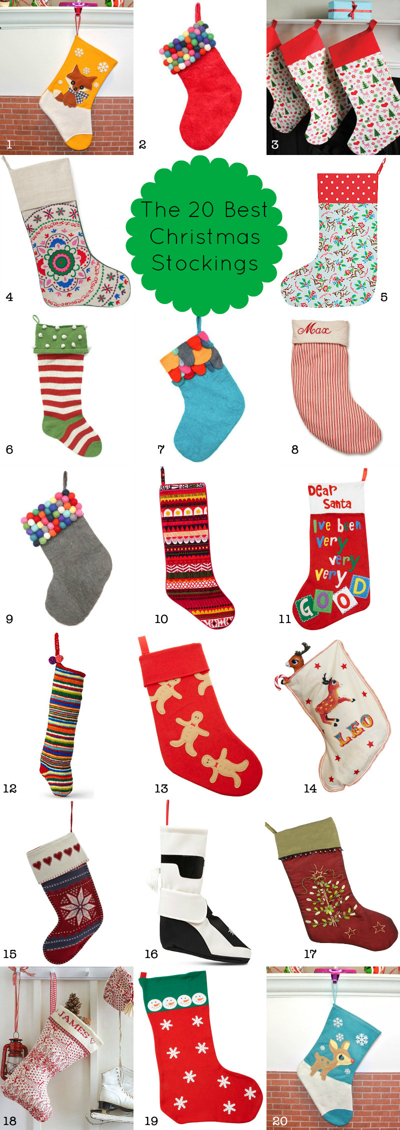 20 Best Stockings 2012 via we-are-scout.com