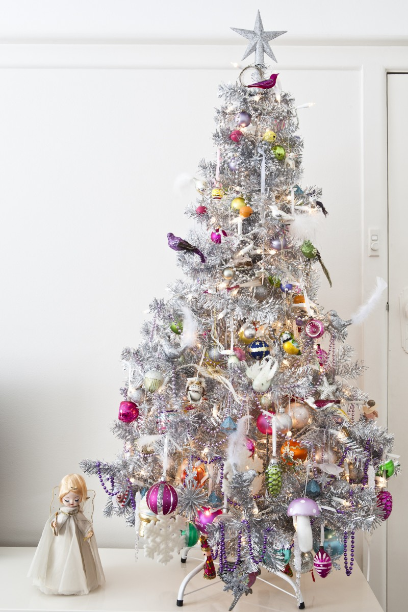 Wee Birdy Christmas Tree via we-are-scout.com