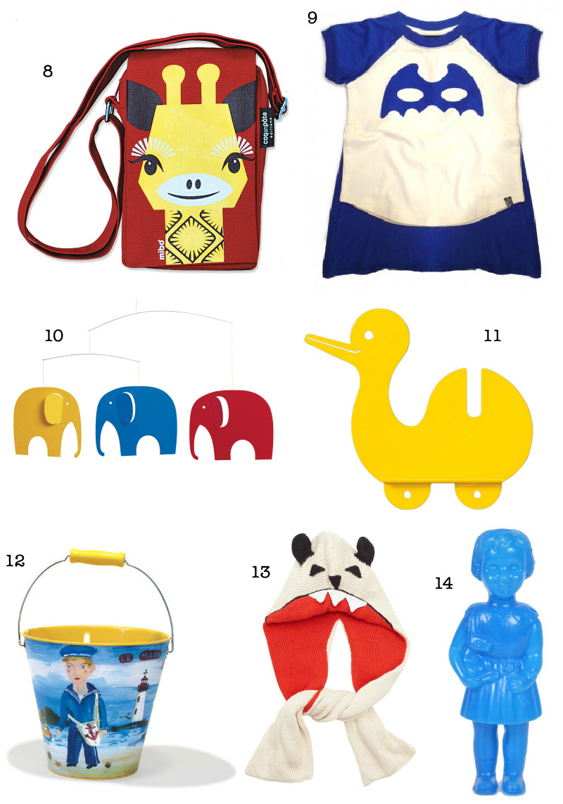 Christmas Gift Guide 2012: Kids Presents via we-are-scout.com