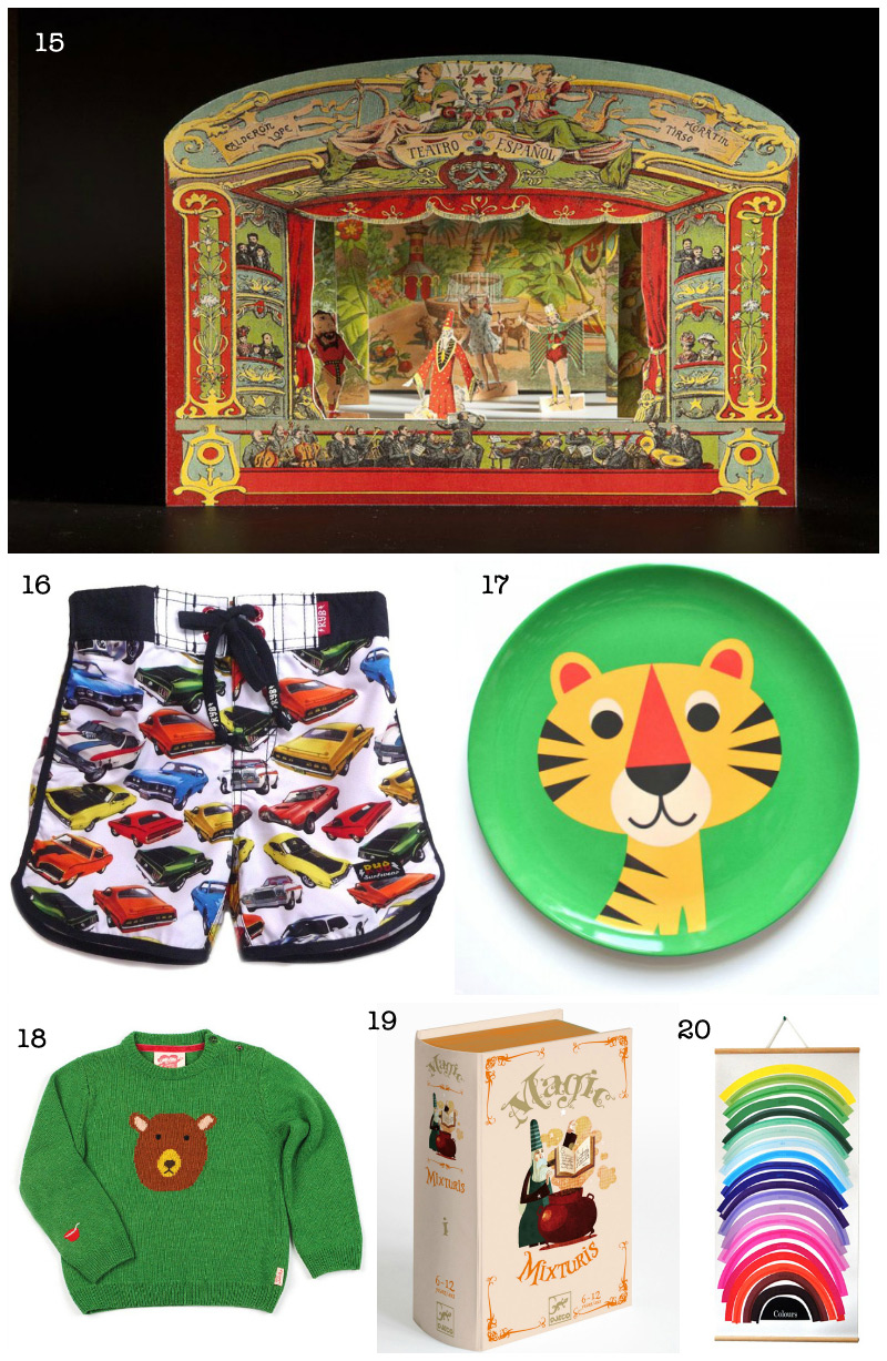 Christmas Gift Guide: Kids Presents via we-are-scout.com