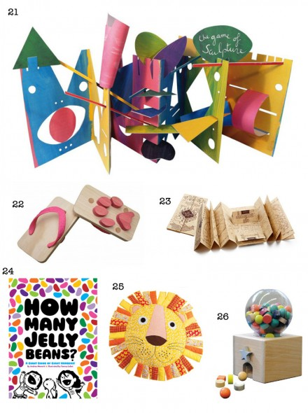 Christmas Gift Guide 2012: Presents for Kids via we-are-scout.com