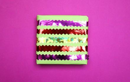 Craftutts+ DIY Christmas Wrap Tutorial via we-are-scout.com