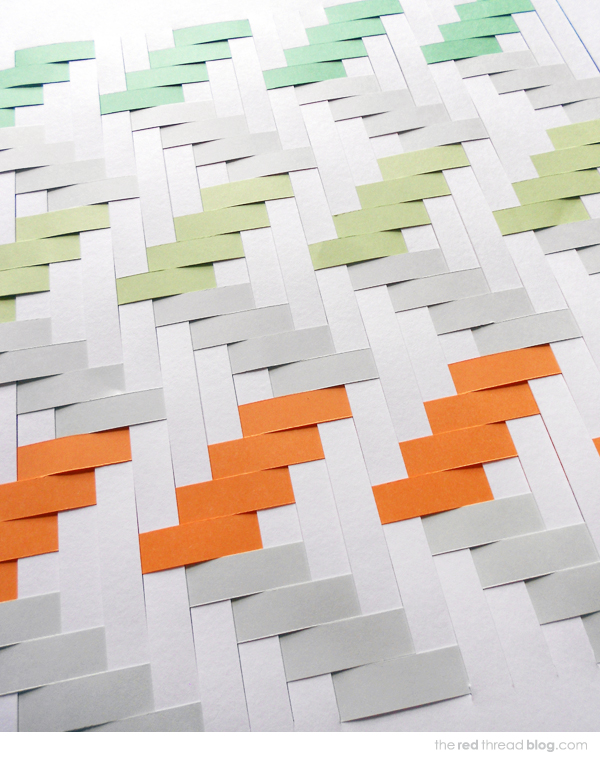 Tutorial How To Make A Paper Weaving Artwork We Are Scout
