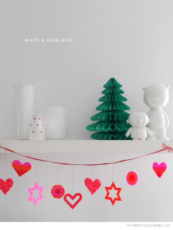 Decorating Ideas > MAKE IT  5 Decoration Ideas Using Hama  Perler Beads  ~ 040711_Christmas Decoration Ideas Beads