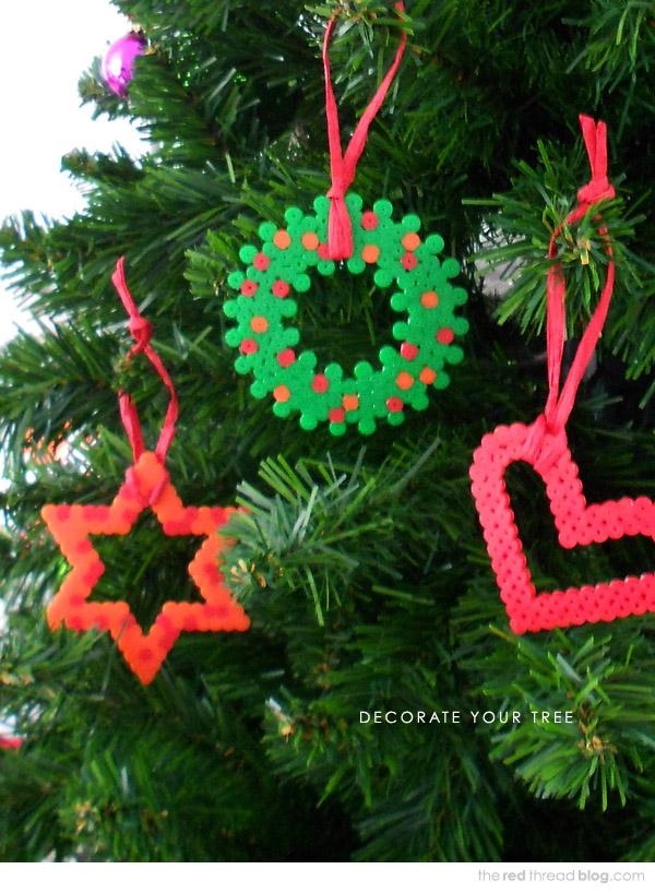 Christmas Hama Beads.Make It 5 Decoration Ideas Using Hama Perler Beads We