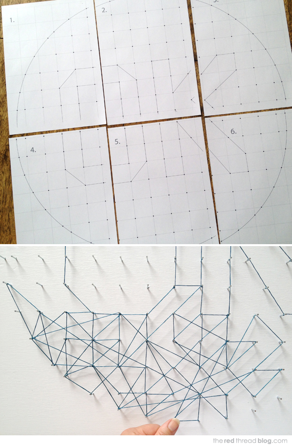 Make It String Art Tutorial We Are Scout
