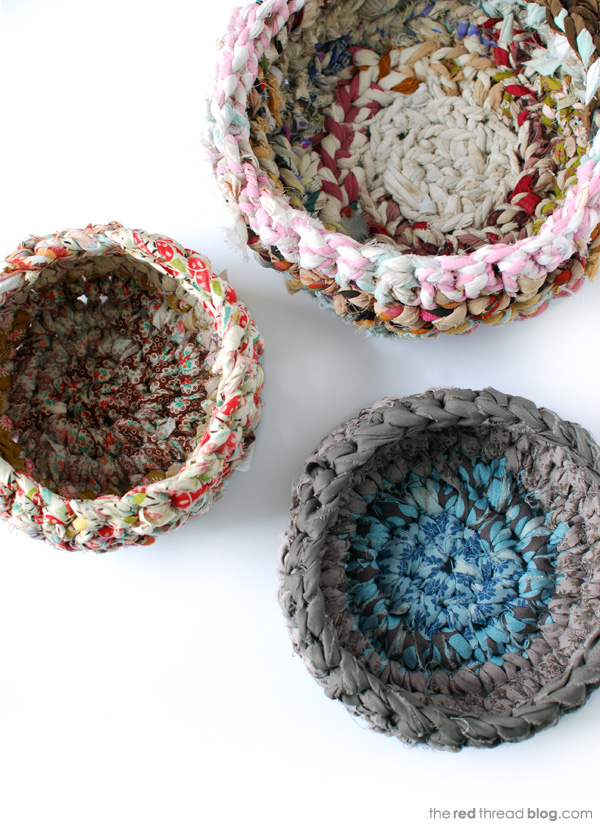http://www.we-are-scout.com/2013/02/tutorial-beginners-crochet-make-a-fabric-basket.html