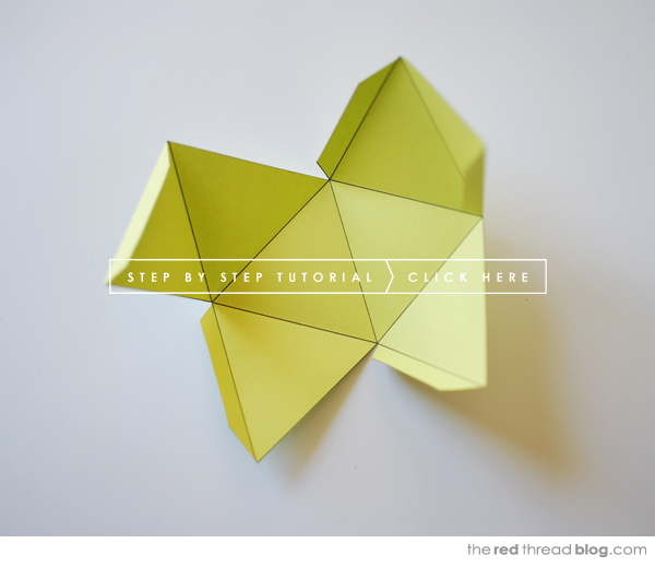 TUTORIAL :: Paper Geometric Shape Mobile - We Are Scout