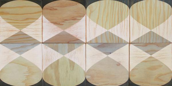 moonish wood tiles via the red thread