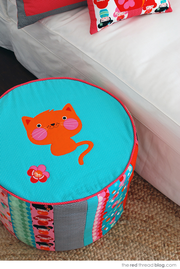 Hello Tokyo by the red thread ottoman