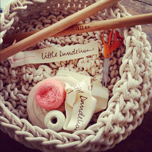 Little Dandelion via the red thread