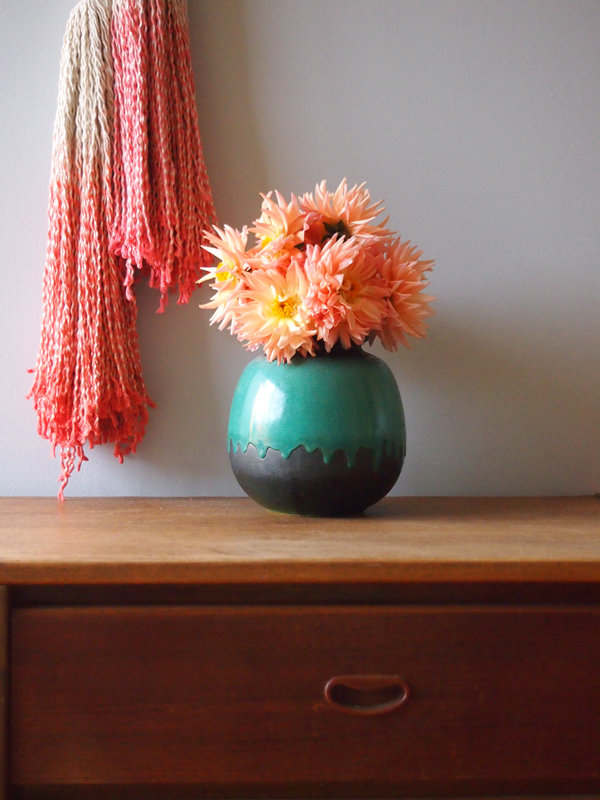 Ouch Flower tassels via the red thread blog