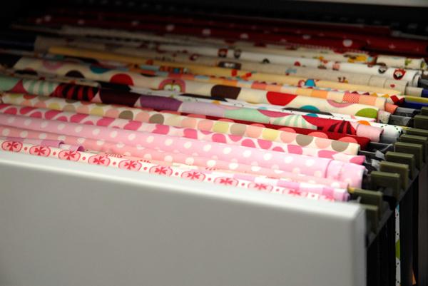 Craft Schmaft fabric filing via the red thread