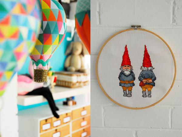 Craft Schmaft gnomes via the red thread