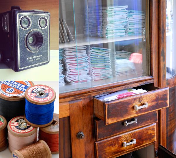 Craft Schmaft vintage via the red thread