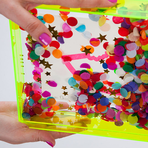 LoveStar confetti frame via the red thread