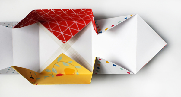 Make Patchwork Paper Origami Gift Boxes We Are Scout