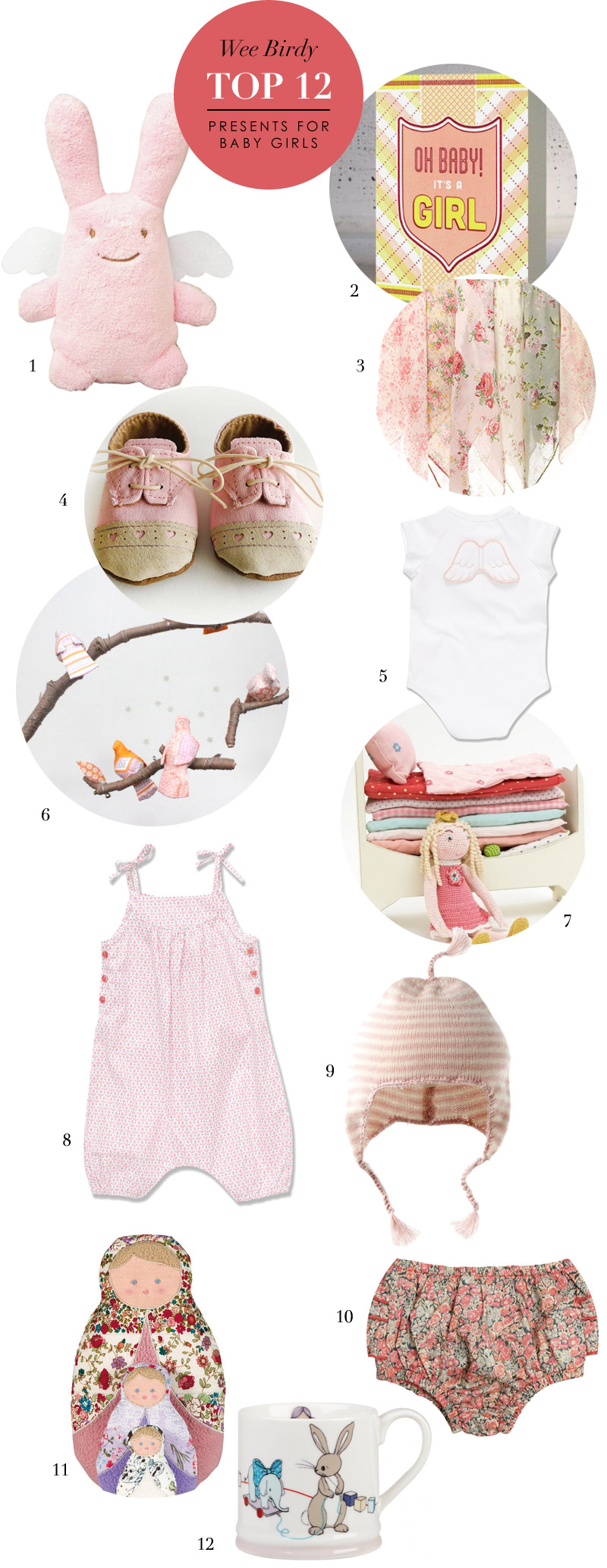 12 Best Presents for a Baby Girl via we-are-scout.com