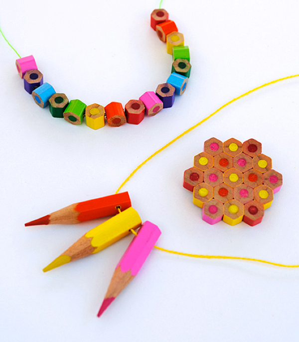 mini eco craft via the red thread