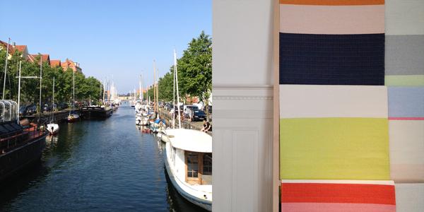 the red thread Copenhagen canal
