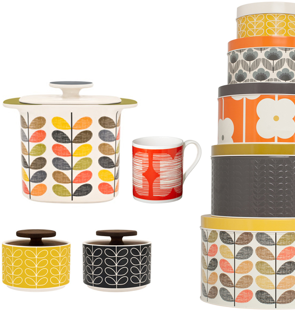 Orla Kiely Kitchen Via The Red Thread