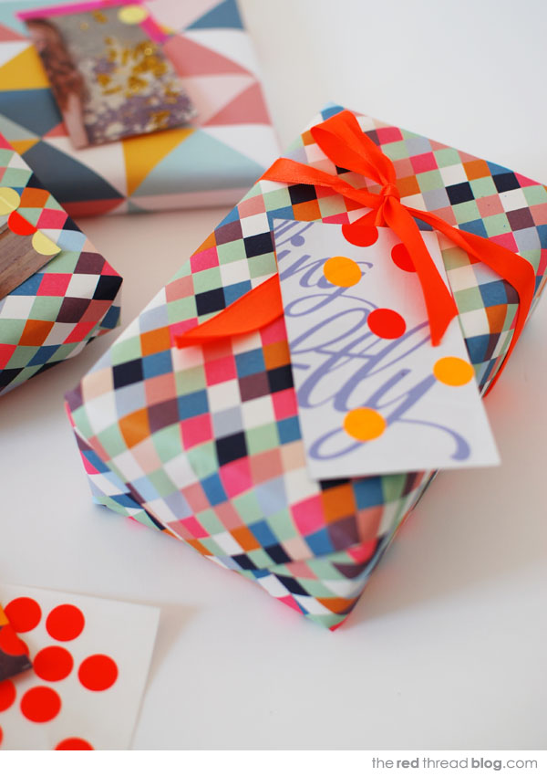 the red thread gift spot tag