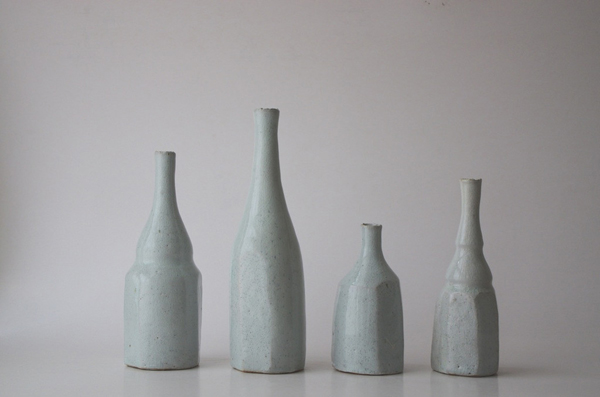 Akikio Hirai bottles via the red thread