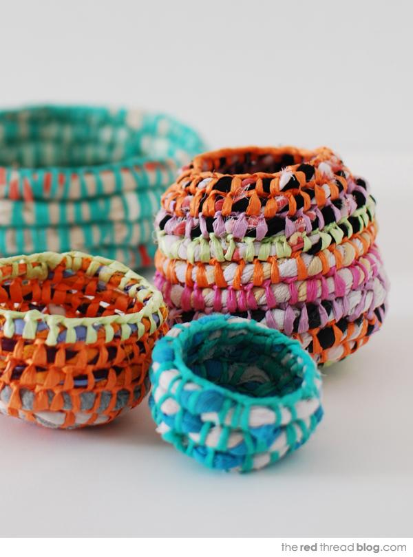 Lisa Tilse woven vessels